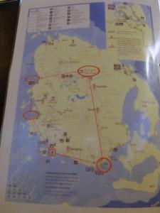 イルデパン島 島内ツアーの周り方