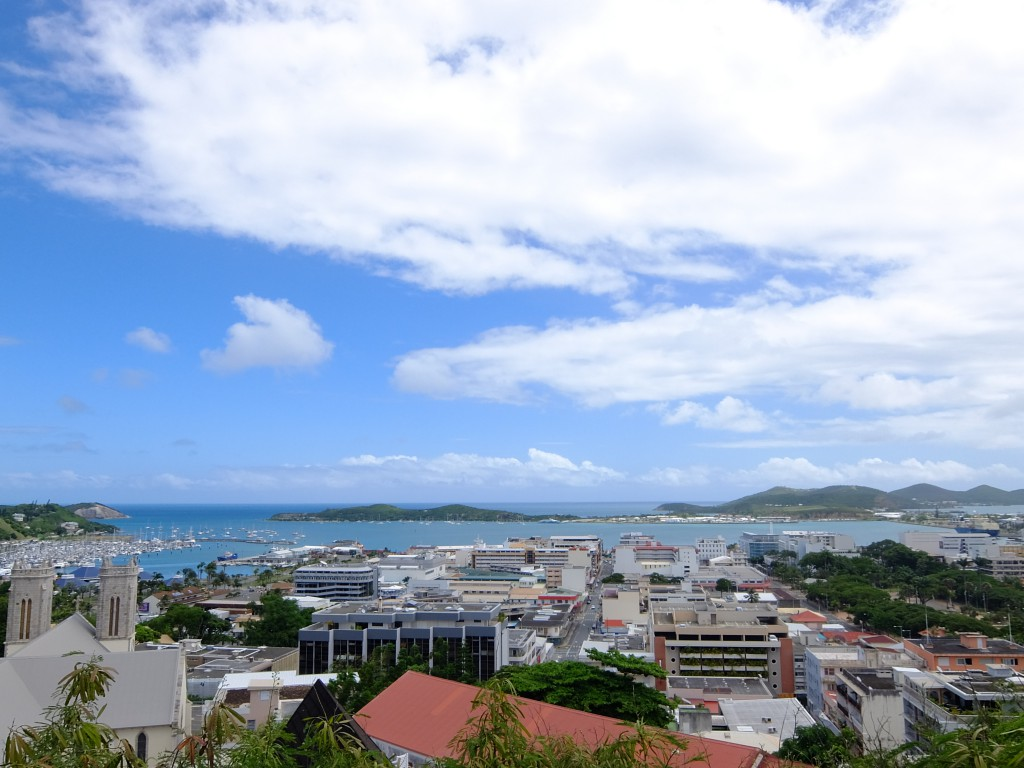 FOLの丘からの景色@ニューカレドニア(ヌメア)