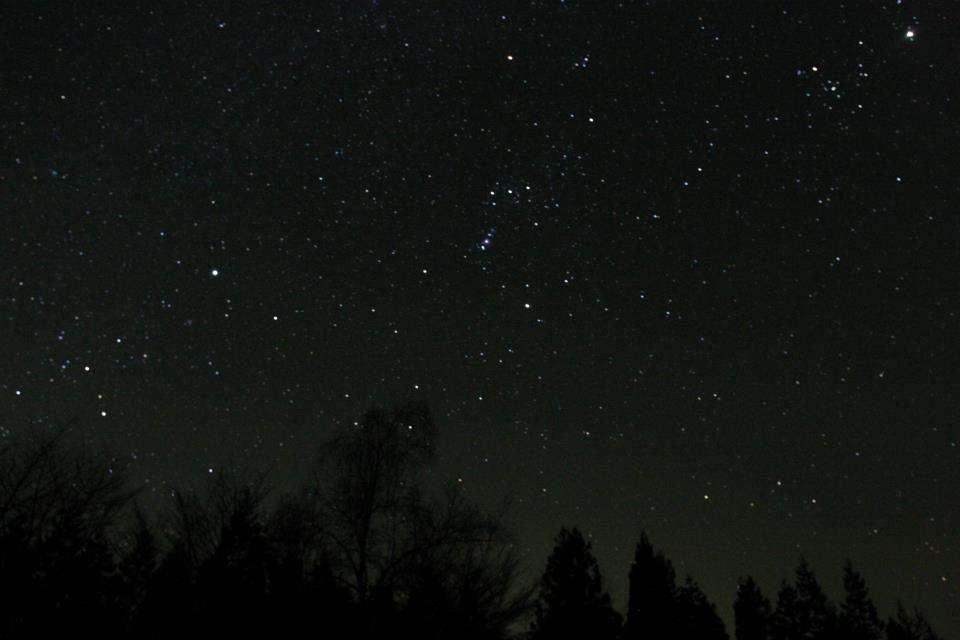 イルデパン島で見れる星 ※イメージ