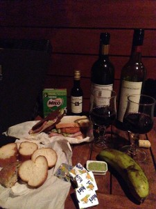 イルデパン島 ウレテラ ホテルでの夕食