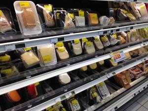 ニューカレドニアで売っているチーズたち