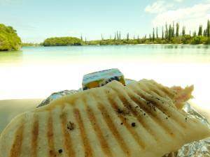 イルデパン島で食べたランチ