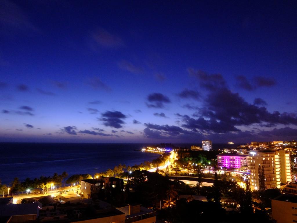 ラマダプラザホテルからの夜景♪