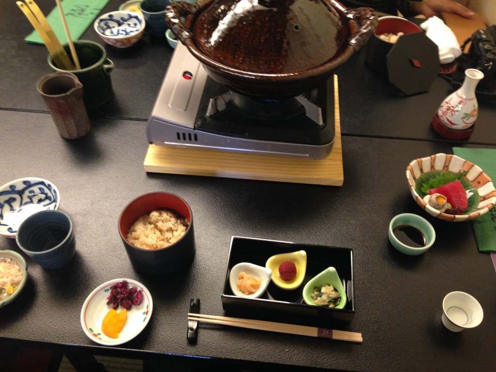 京都 花筏さんのランチ1